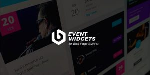 WordPress Event Widgets Addon For Blox Page Builder